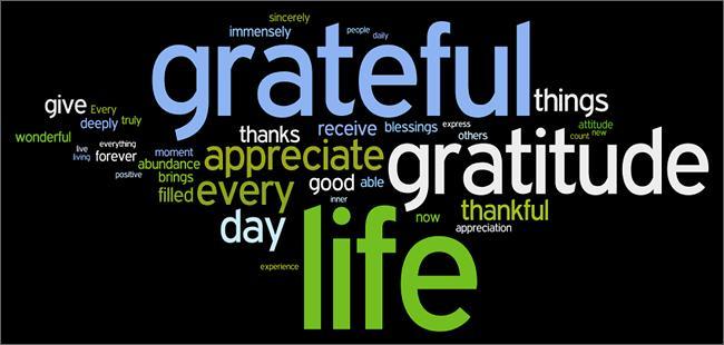 Gratitude-poster