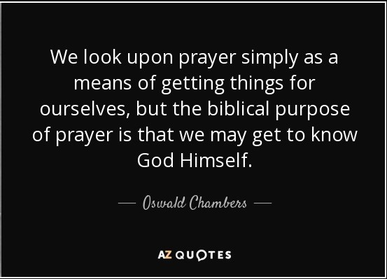 Prayer quote - Chambers (2)