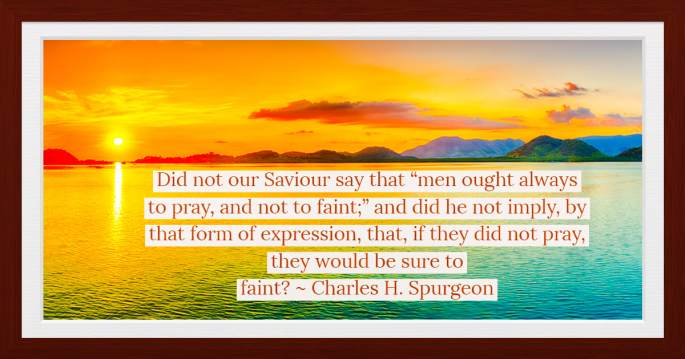Prayer - Spurgeon